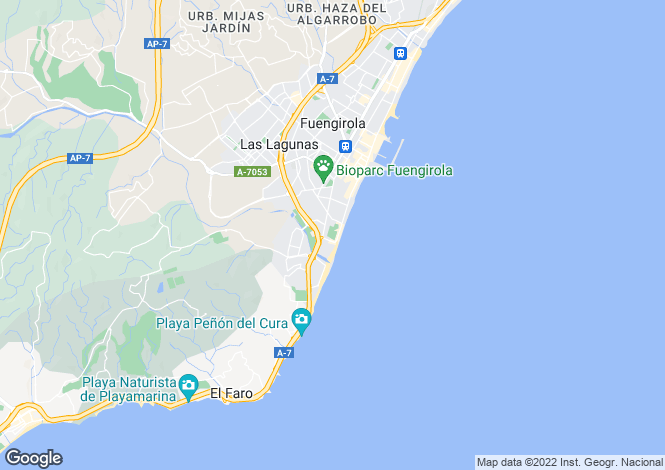 Map for Fuengirola, Fuengirola, Spain