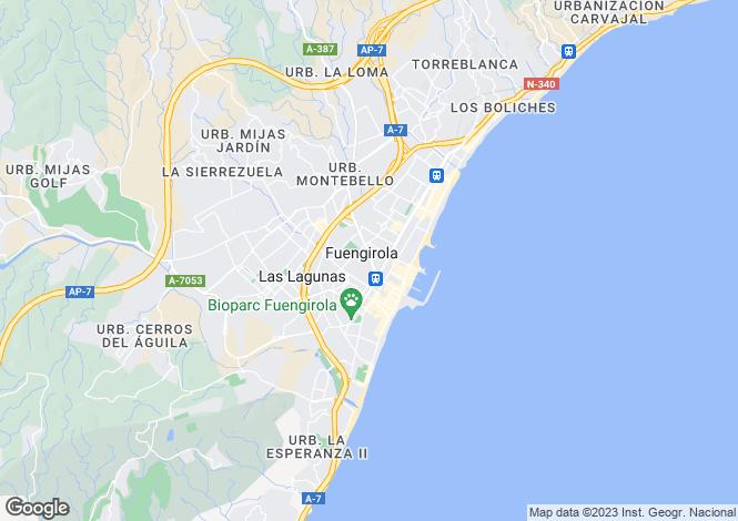 Map for Fuengirola