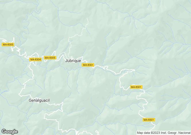 Map for Jubrique, Jubrique, Malaga, Spain