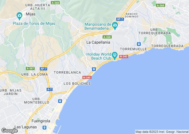 Map for Torreblanca, Málaga, Andalusia