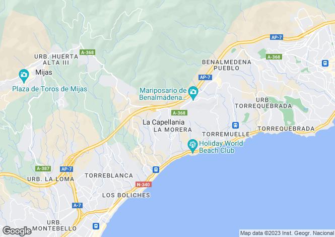 Map for Benalmadena Costa, Costa Del Sol, 29630, Spain