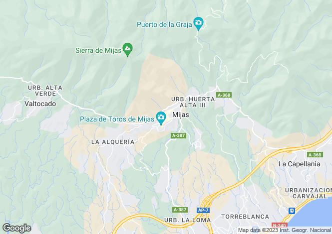Map for Mijas Pueblo, JS16-04