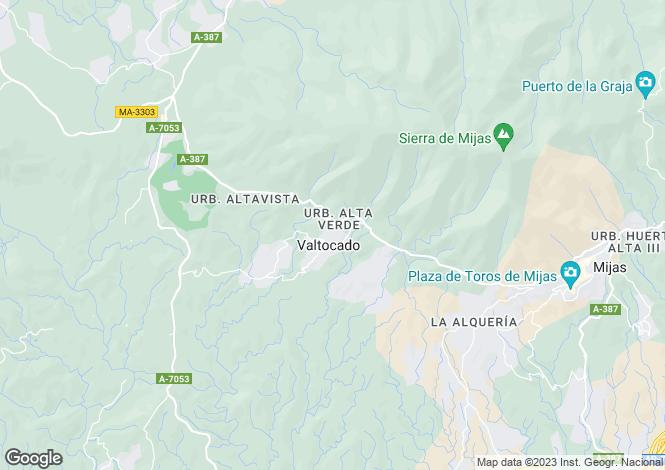 Map for Detached Villa, Valtocado, Mijas