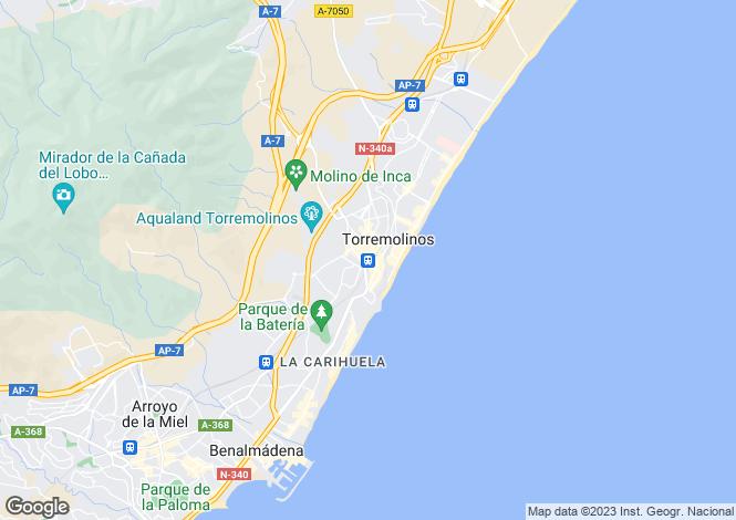 Map for Andalusia, Malaga, Torremolinos