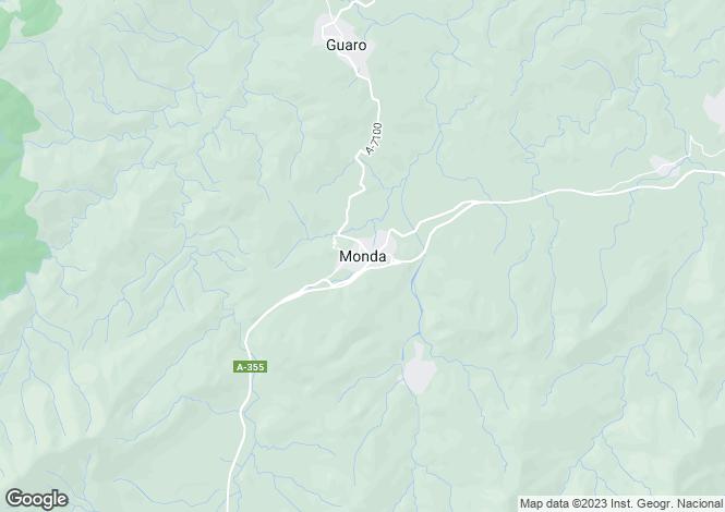 Map for Monda