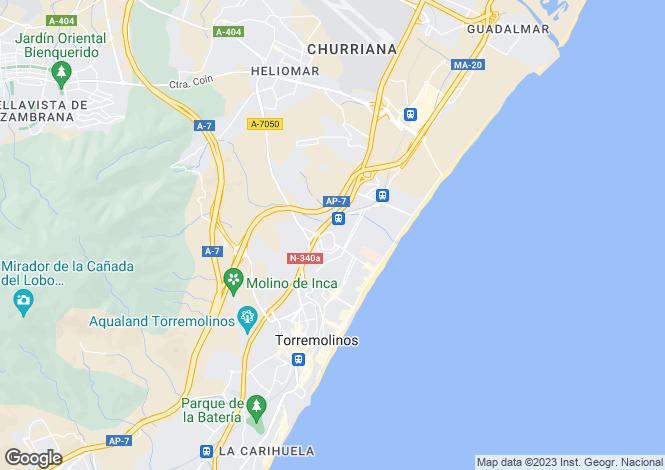 Map for Torremolinos, Málaga, Andalusia