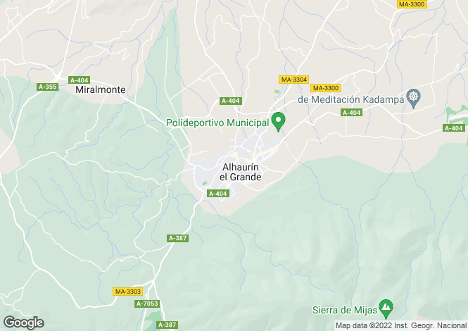 Map for Alhaurin el Grande