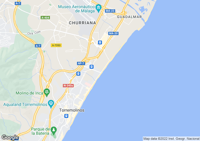 Map for Torremolinos