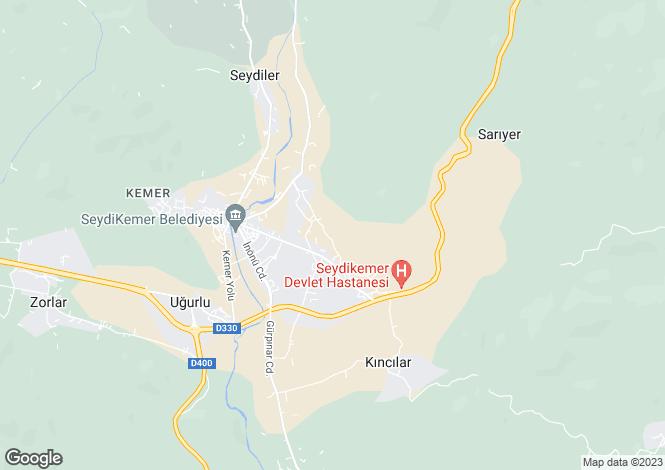 Map for Fethiye, Fethiye, Mugla