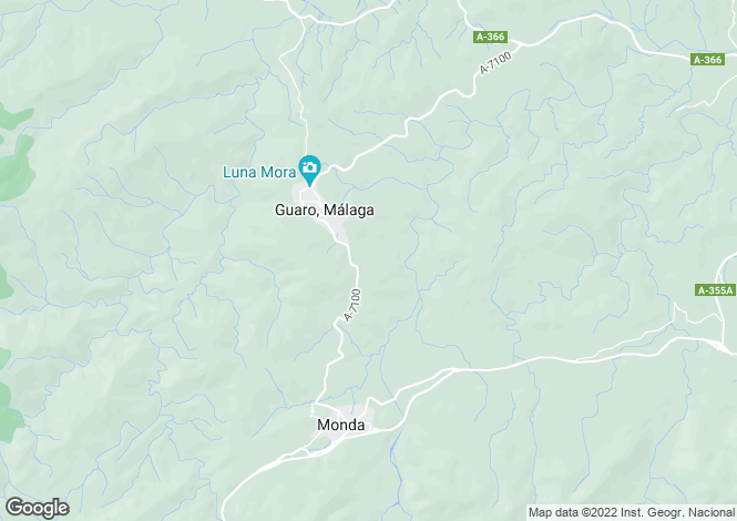 Map for Guaro,Spain
