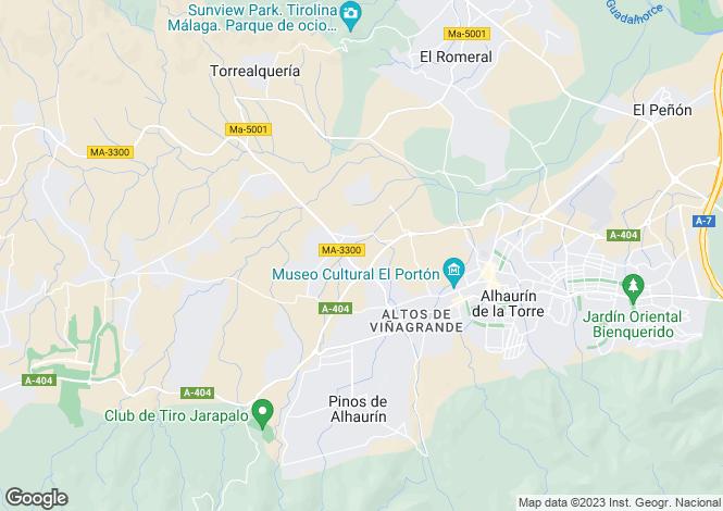 Map for Andalucia, Malaga, Alhaurín de la Torre