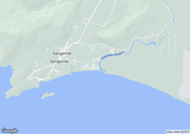 Map for Fevziye, Ortaca, Mugla