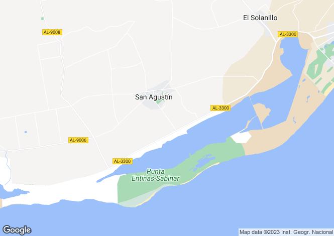 Map for El Ejido, Almería, Andalusia