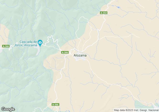Map for Andalucia, Malaga, Alozaina