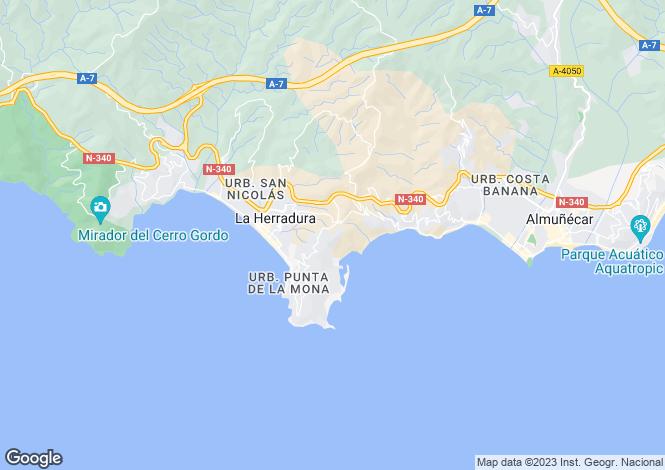 Map for La Herradura, Granada, Andalusia