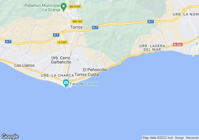 Map for Andalucia, Malaga, Torrox