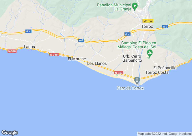 Map for Torrox, Spain