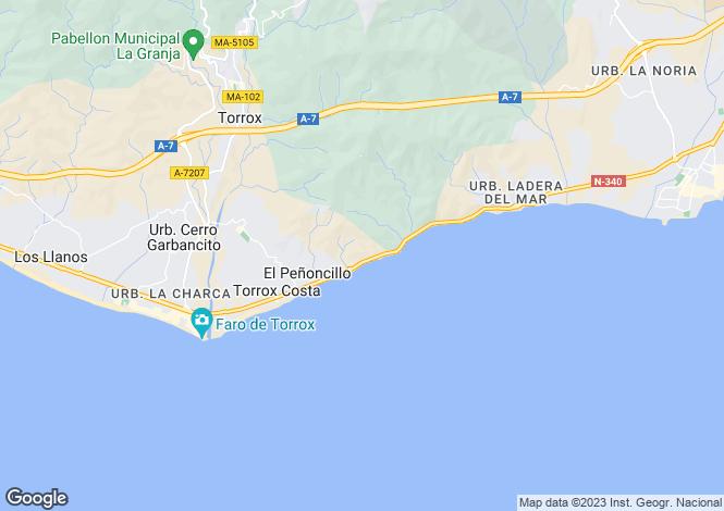 Map for Andalusia, Malaga, Torrox