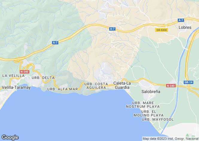 Map for Salobreña, Granada, Andalusia