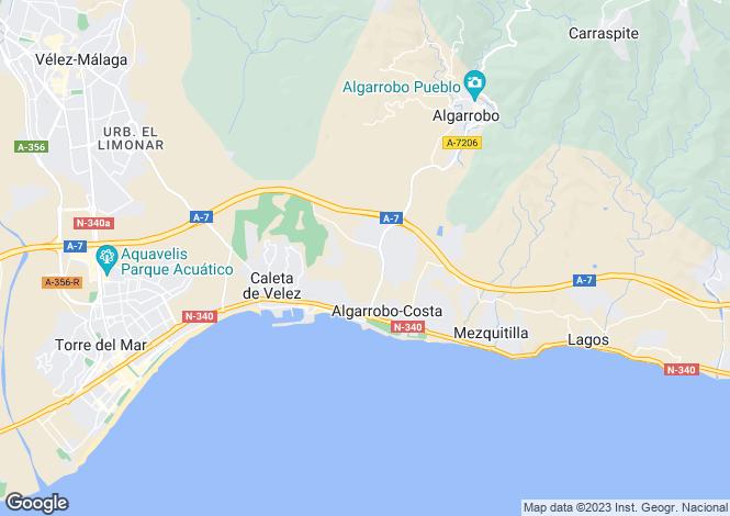 Map for Algarrobo, Málaga, Andalusia