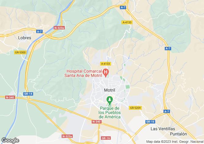 Map for Motril,Granada