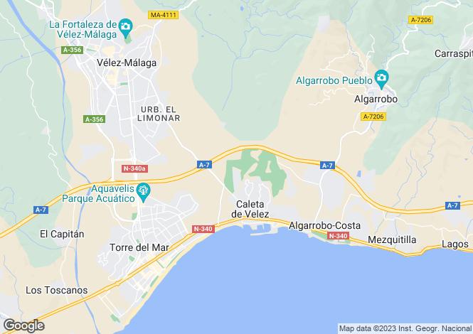 Map for Spain - Andalusia, Malaga, Vélez-Málaga