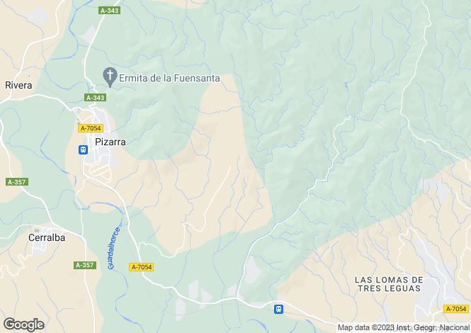 Map for Pizarra, Málaga, Andalusia