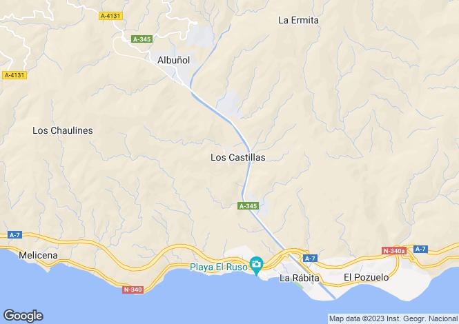 Map for Albuñol, Granada, Andalusia