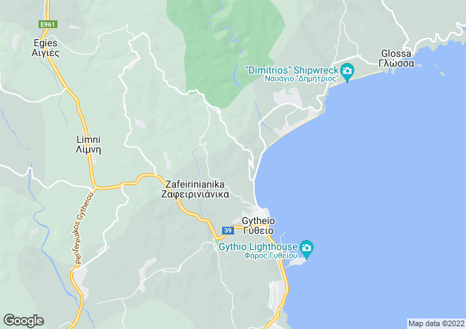 Map for , Lakonia, Greece
