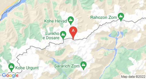 map of Lunkho e Dosare (Pakistan)