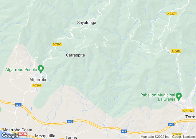 Map for Sayalonga, Málaga, Andalusia