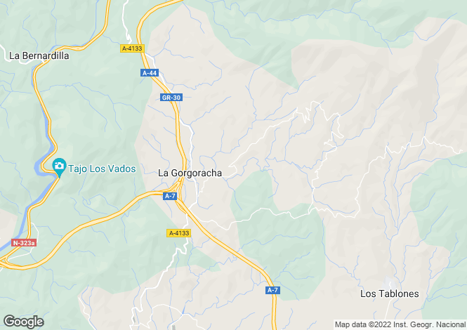 Map for Motril, Granada, Andalusia