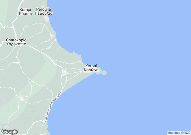 Map for Peloponnese, Messinia, Koroni