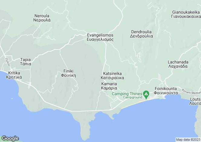 Map for Foinikountas, Messinia, Peloponnese