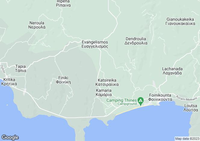 Map for Peloponnese, Messinia, Foinikountas