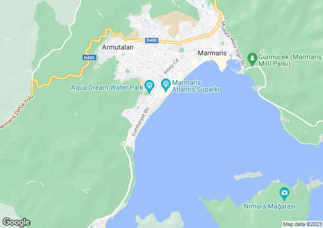 Map for Marmaris, Marmaris, Mugla