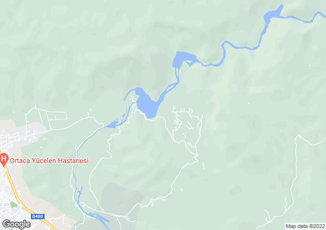Map for Mugla, Dalaman, Akkaya