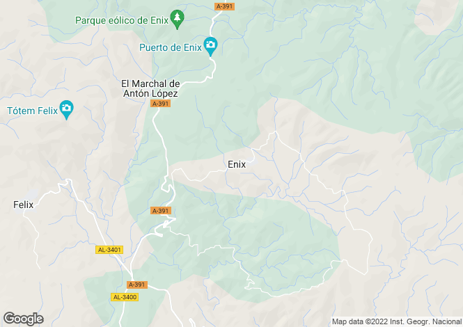 Map for Enix, Spain