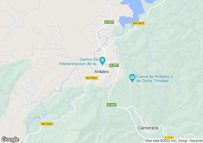 Map for Ardales