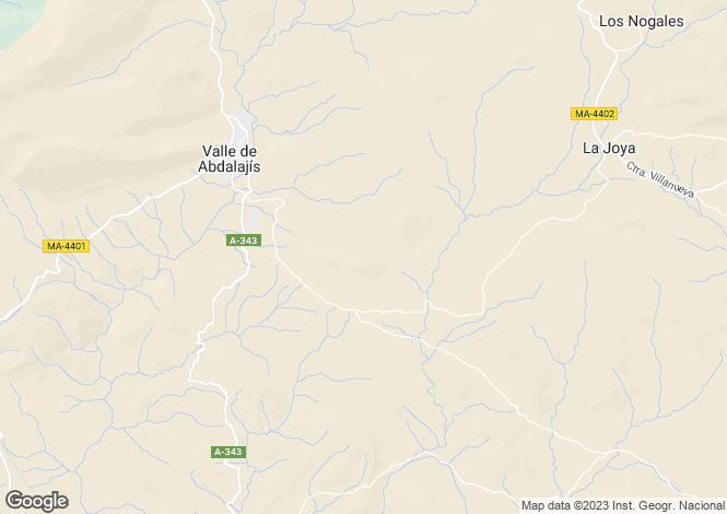 Map for Valle de Abdalajis
