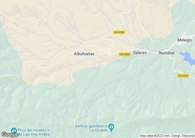 Map for Albuñuelas, Granada, Andalusia