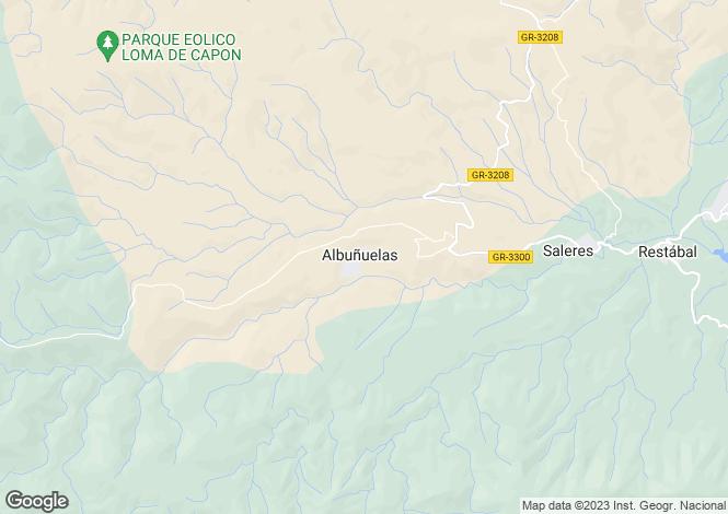 Map for Andalusia, Granada, Lecrín