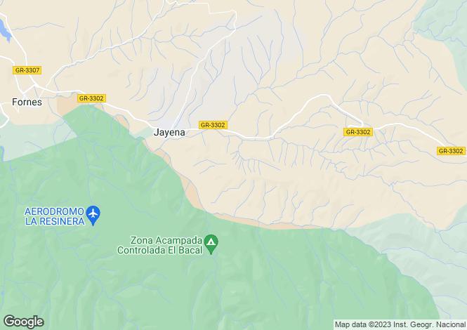 Map for Jayena,Granada