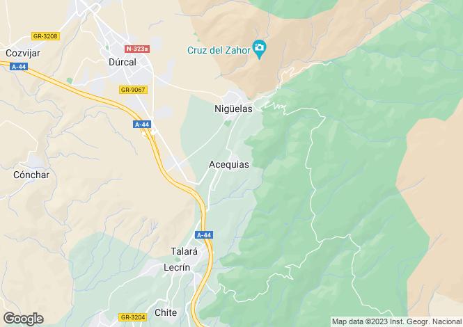 Map for Lecrín, Granada, Andalusia