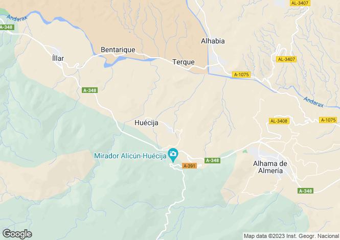 Map for Huécija, Almería, Andalusia