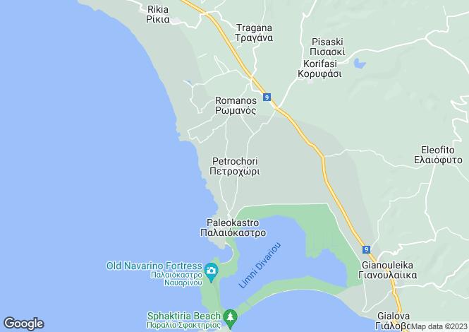 Map for Akritochori, Messinia, Peloponnese
