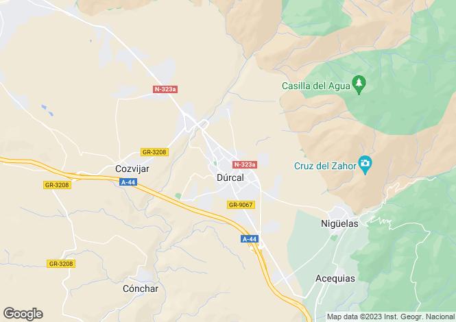 Map for Andalucia, Granada, Dúrcal