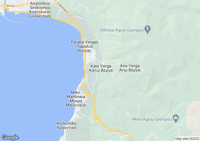 Map for Peloponnese, Messinia, Kalamata