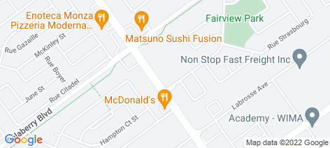 location on map of Restaurant Casbah