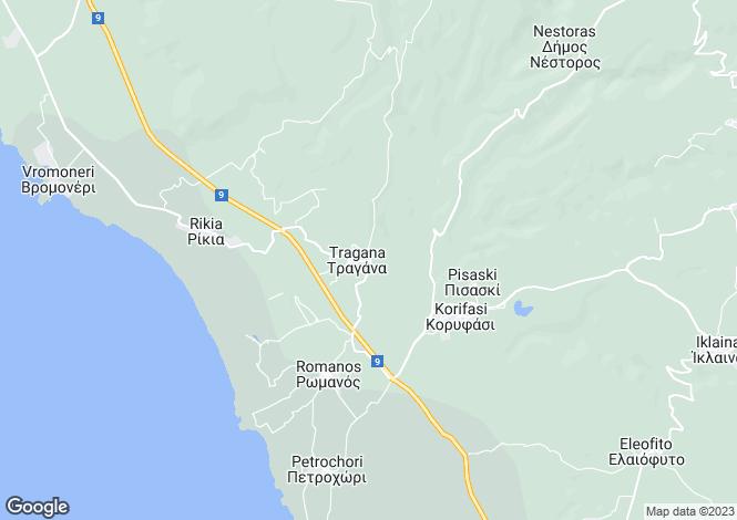 Map for Marathopoli, Messinia, Peloponnese
